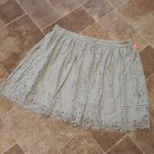 NWT Xhilaration women's size XXL lace skirt